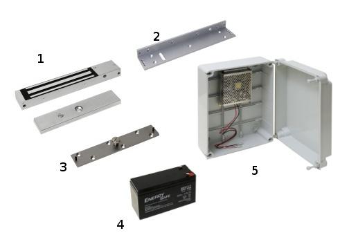 Electroimanes para puertas cortafuegos materiales de - Imanes para puertas ...